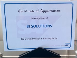 """""""Breakthrough Deal in Banking Sector - 2008"""" from SAP"""